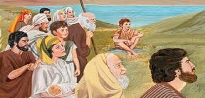 Yesus mengajar orang banyak