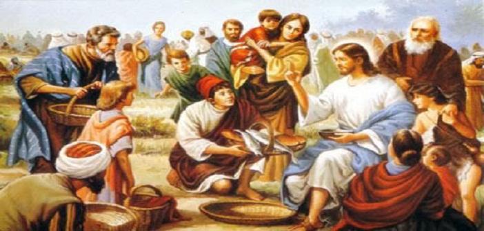 Penggandaan Lima Potong Roti dan Dua Ekor Ikan