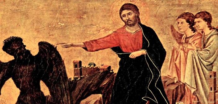 Yesus mengusir setanrs