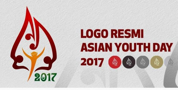 logo resmi the 7th Asian Youth Day (AYD) 2017.