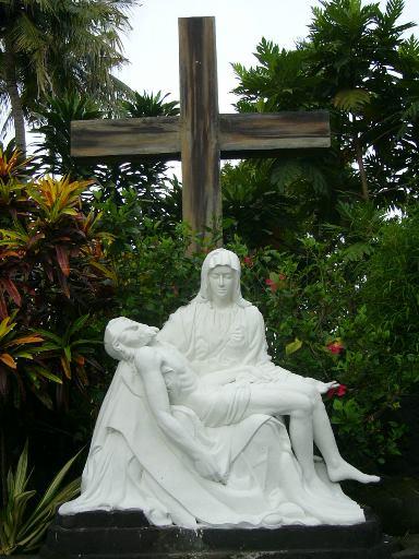 seminari tinggi kentungan patung la pieta