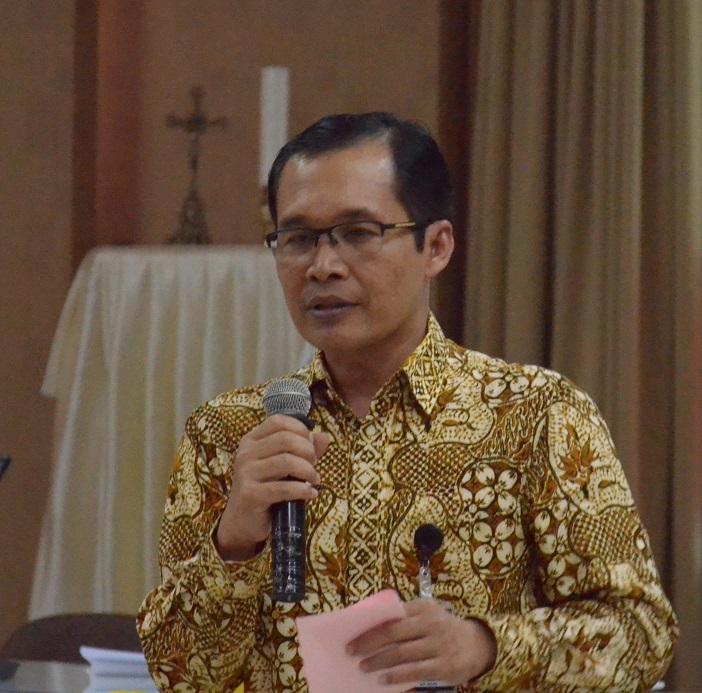 Bapak Alexander Marwata,salah satu dari lima pimpinan KPK periode 2015-2019