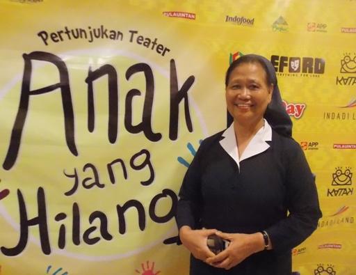 Suster Bernadette Saragih FSE (foto K R Mangu)