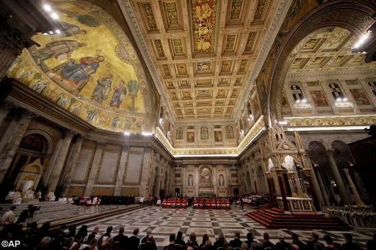 Paus pimpin Ibadah Sore penutupan Pekan Doa sedunia untuk Persatuan Umat Kristiani