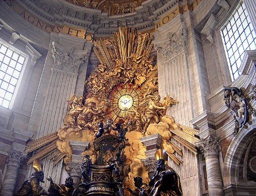 back-of-chair-of-st-peter