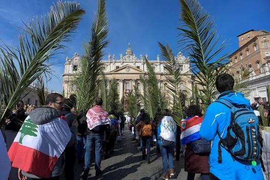 Minggu Palma Vatikan