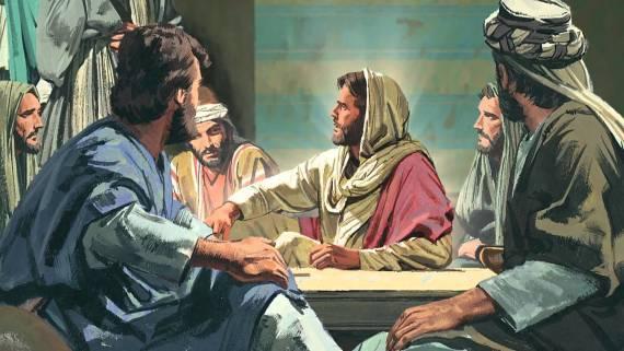 """""""Percayalah kepada Tuhan Yesus Kristus, dan engkau akan selamat, engkau dan sisi rumahmu."""""""