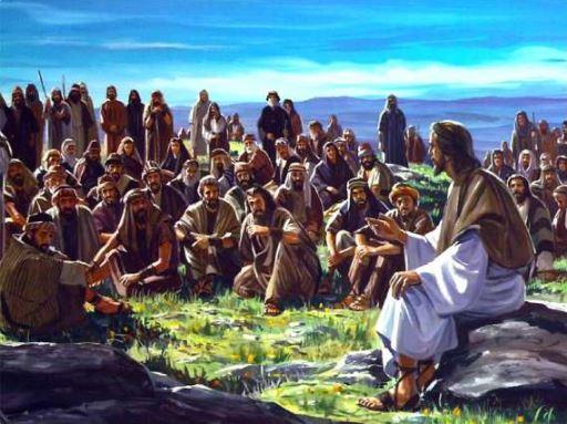 Mat 5:38-42 Janganlah melawan orang yang berbuat jahat kepadamu.