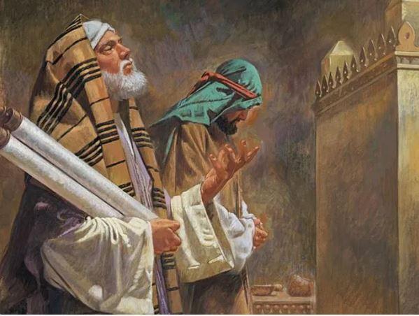 Luk 18:9-14 Pemungut cukai ini pulang ke rumahnya, sebagai orang yang didenarkan Allah, sedang orang Farisi itu tidak.