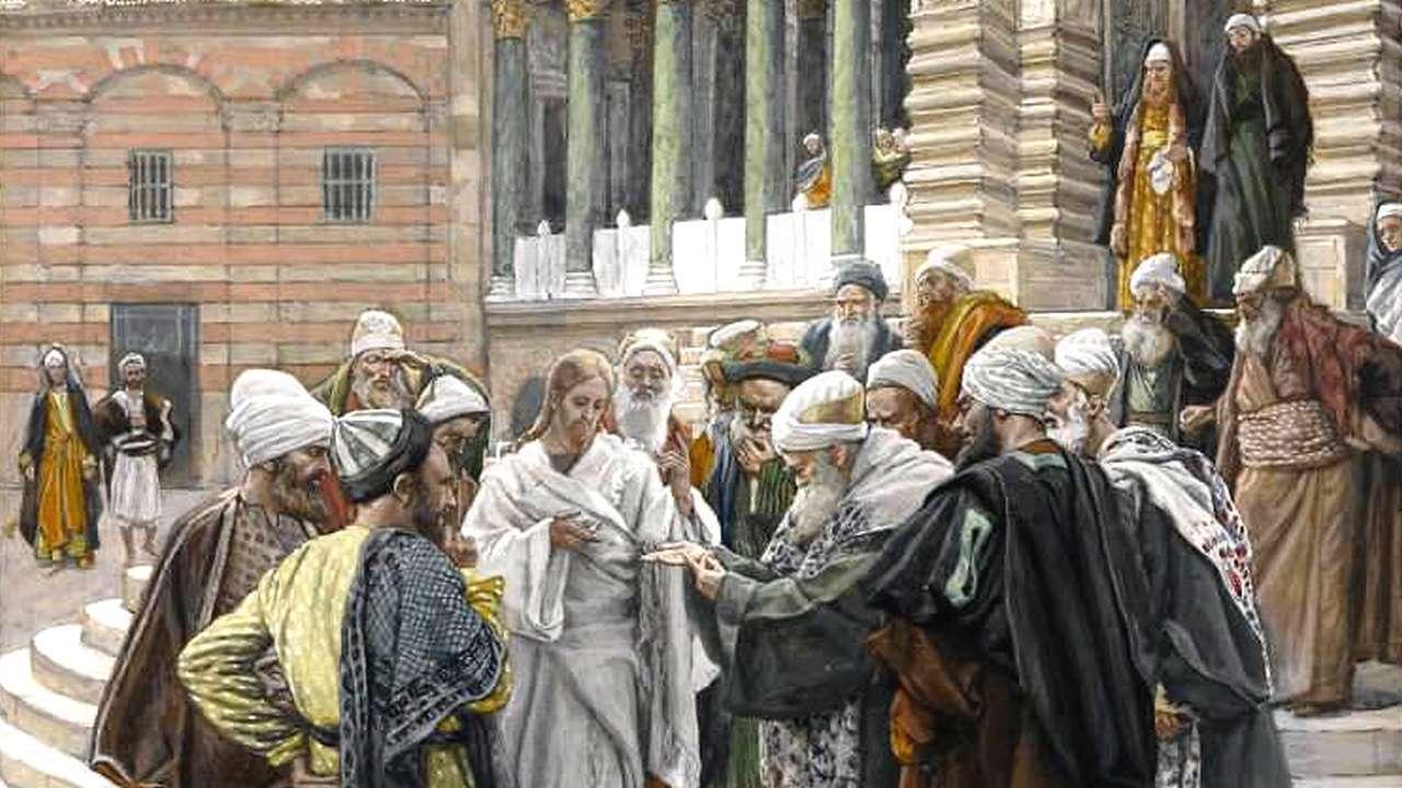 Luk 20:27-40 Allah bukanlah Allah orang mati, melainkan Allah orang hidup.