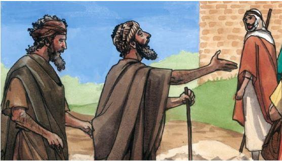 Mat 9:27-31 Dua orang buta disembuhkan karena percaya kepada Yesus.