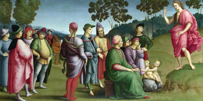 Mat 11:16-19 Mereka tidak mendengarkan Yohanes Pembaptis maupun Anak Manusia.