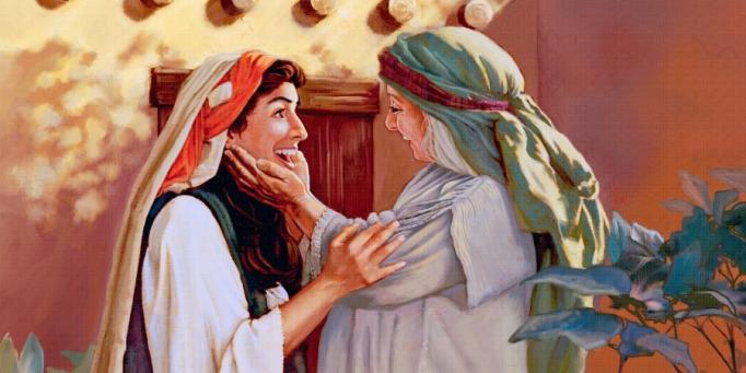 Luk 1:39-45 Siapakah aku ini sampai ibu Tuhanku datang mengunjungi aku?