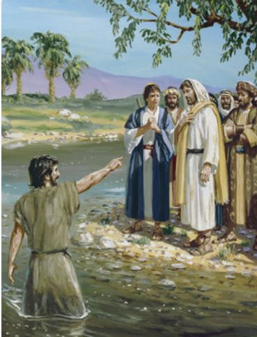 Yoh 1:29-34 Lihatlah Anak domba Allah.