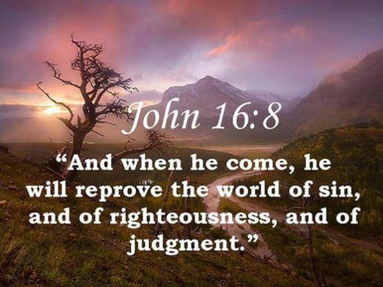 Yoh 16:5-11 Jikalau Aku tidak pergi, penghibur tidak akan datang kepadamu.