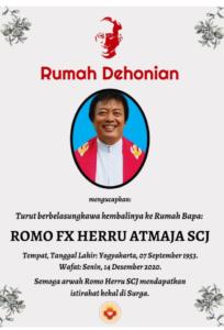 Romo FX Herru Atmaja, SCJ/Dok.pribadi